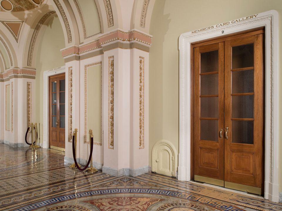 Pequenas portas misteriosas do Capitólio