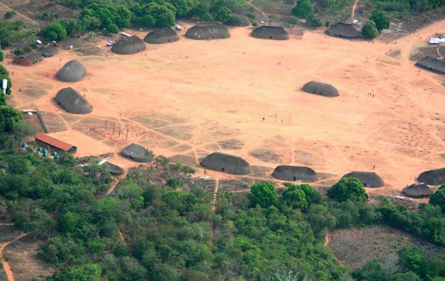 Tribo no Parque do Xingú