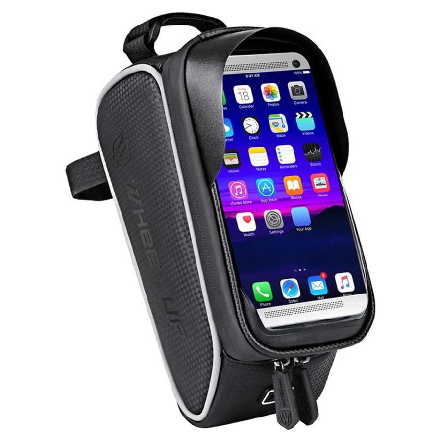Bolsa para celular com suporte para bicicleta (à prova d'água)