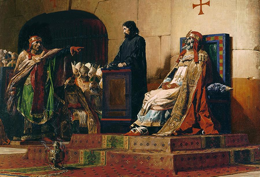 Processo de impeachment contra Papa morto teve cadáver presente no julgamento