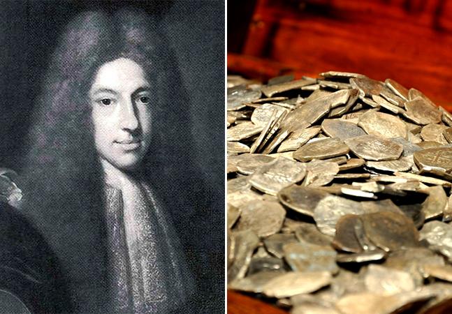Esqueletos descobertos podem revelar a história do mais rico pirata da historia, morto há 300 anos