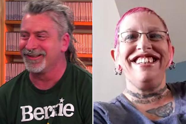 Mike e Michelle, os dois jovens entrevistados por Bernie, hoje em dia