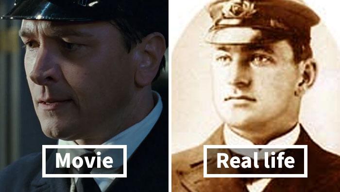 O diretor do Titanic