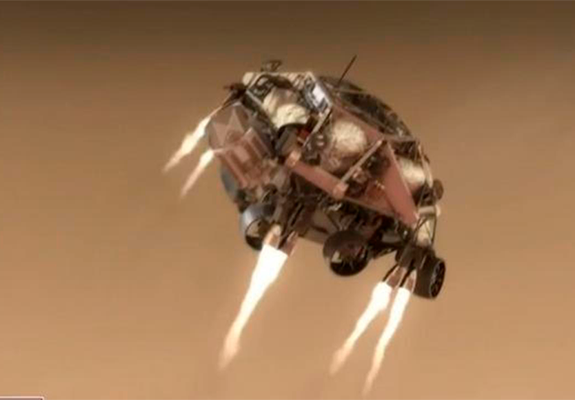 Marte: Perseverance faz primeiras imagens após viajar 480 milhões de km até planeta vermelho
