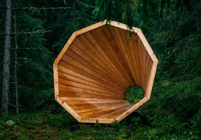 Apure os ouvidos com este maravilhoso amplificador de sons da floresta