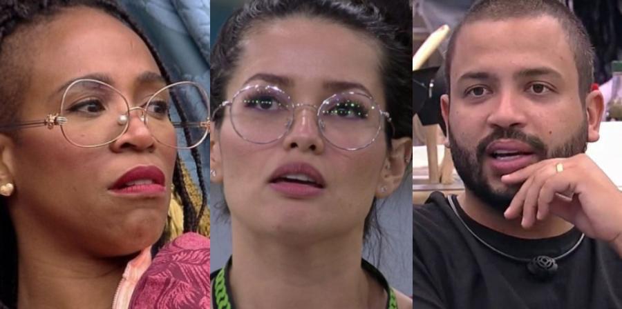 Cenas de Karol Conká, Juliette e Projota no 'BBB 21'