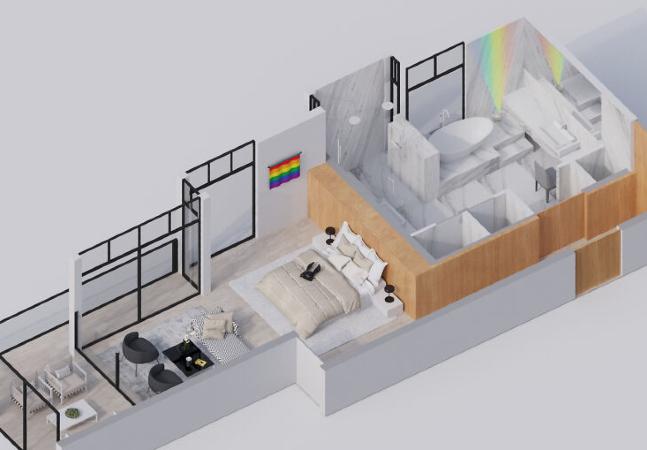 HomeAdvisor mostra como são os quartos das celebridades com plantas 3D