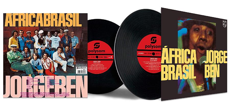 Capa do disco 'África do Brasil', de Jorge Ben