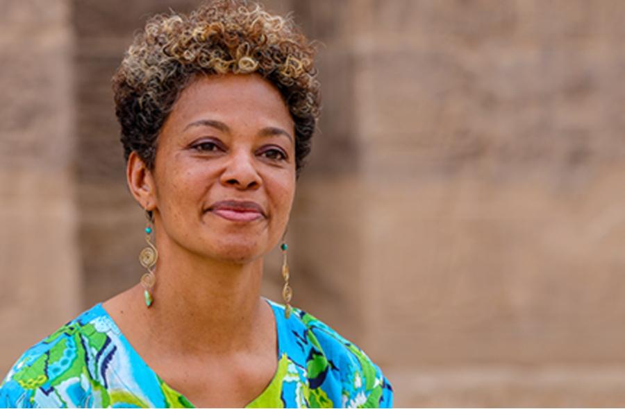 Retrato da professora Solange Ashby