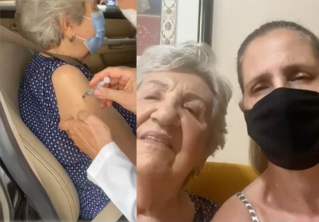 Filha acusa enfermeira de fingir aplicar dose de vacina contra covid-19 em idosa; veja vídeo