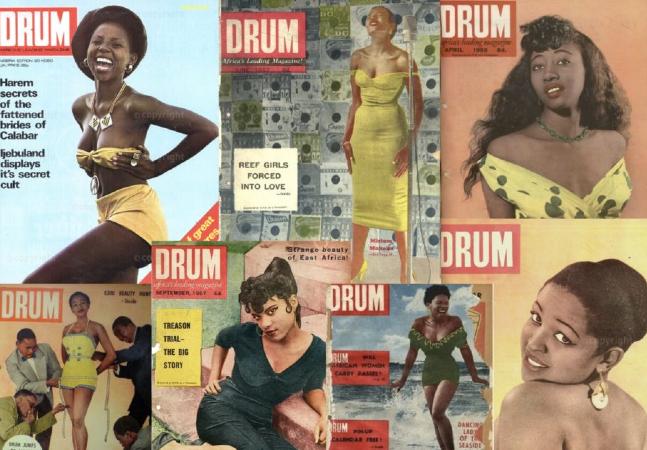 DRUM contra o Apartheid: a história da 'primeira revista africana de vidas negras'