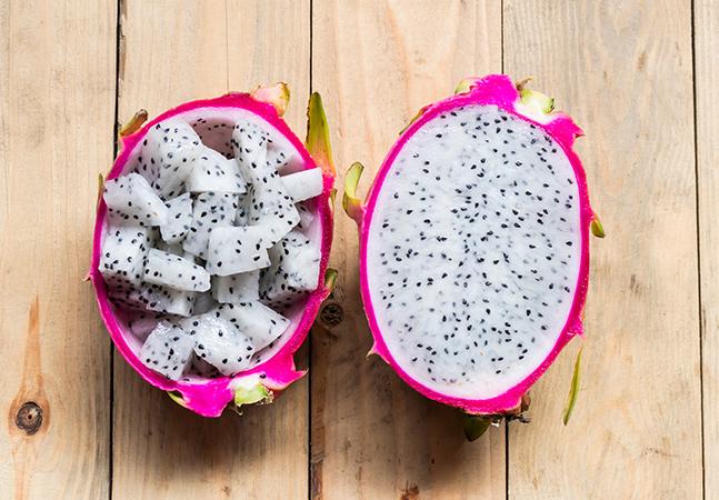 Pitaya é uma das frutas mais lindas e gostosas que existem e podemos provar