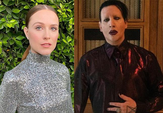 Marilyn Manson é acusado de abuso por Evan Rachel Wood: 'Homem perigoso'