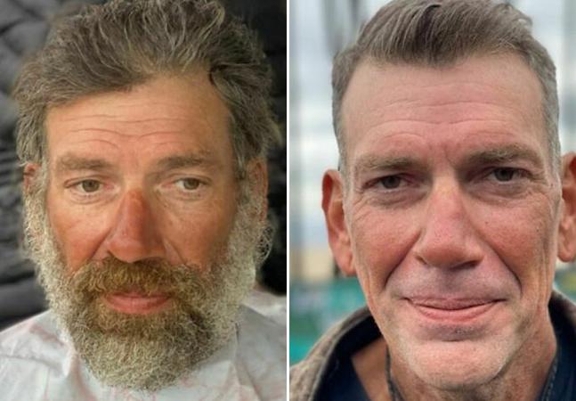 Barbeiro transforma visual de pessoas em situação de rua e resultados são inspiradores