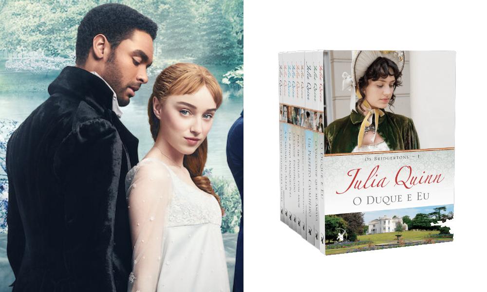 'Bridgerton': Amazon disponibiliza box com 9 livros da série para Kindle
