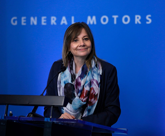 Mary Barra, CEO da GM