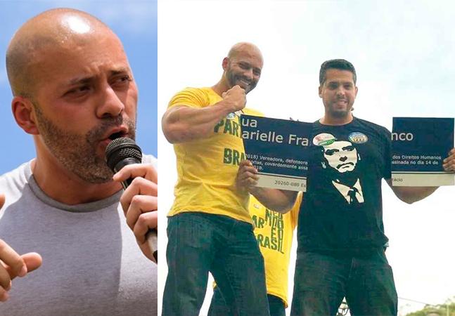 Daniel Silveira, preso por ameaça ao STF, é negacionista e zombou do assassinato de Marielle Franco