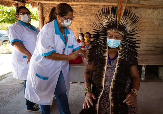 Covid: má conservação pode mandar para o ralo 320 doses de vacina para indígenas do Xingu