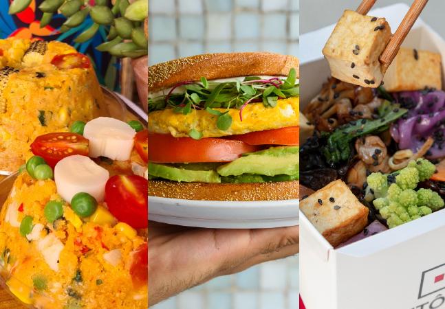 19 boas opções de pratos veganos, vegetarianos e plant based por delivey