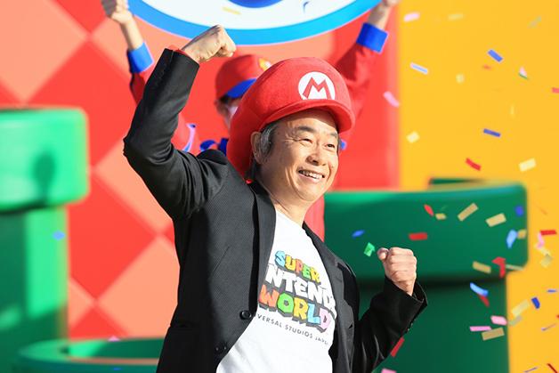Shigeru Miyamoto, criador do Super Mario