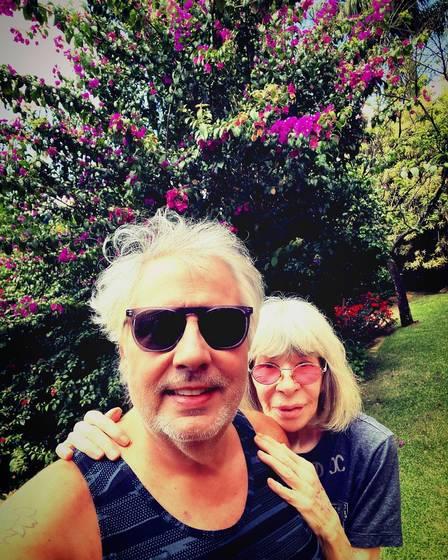 Rita Lee e Roberto de Carvalho