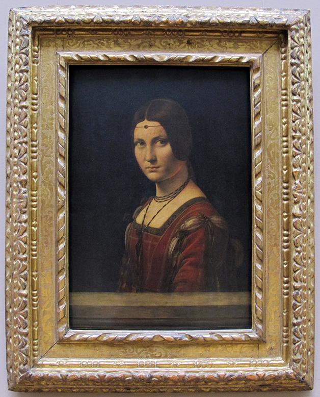 La Belle Ferronnière, de Leonardo da Vinci