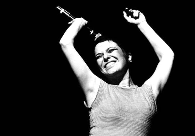 A cantora Elis Regina