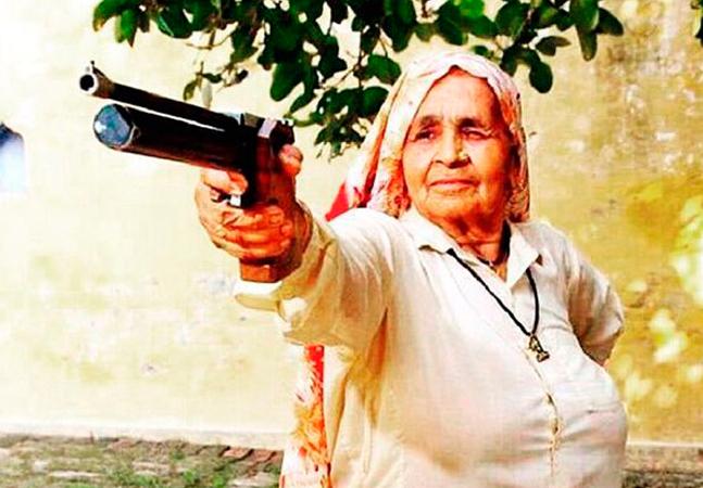 Chandro Tomar: atiradora mais velha do mundo mira a derrubada do patriarcado na Índia