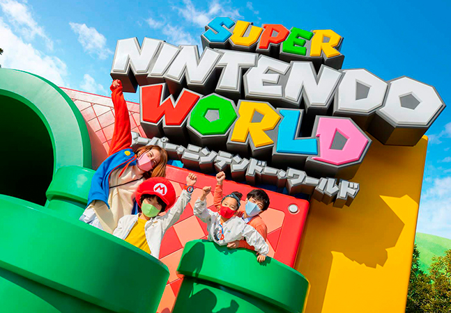 Nintendo inaugura parque temático no Japão e libera novas fotos