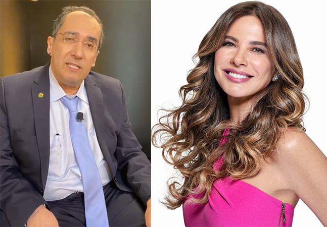 Luciana Gimenez divulga carta aberta após ser chamada de 'prostituta' por senador