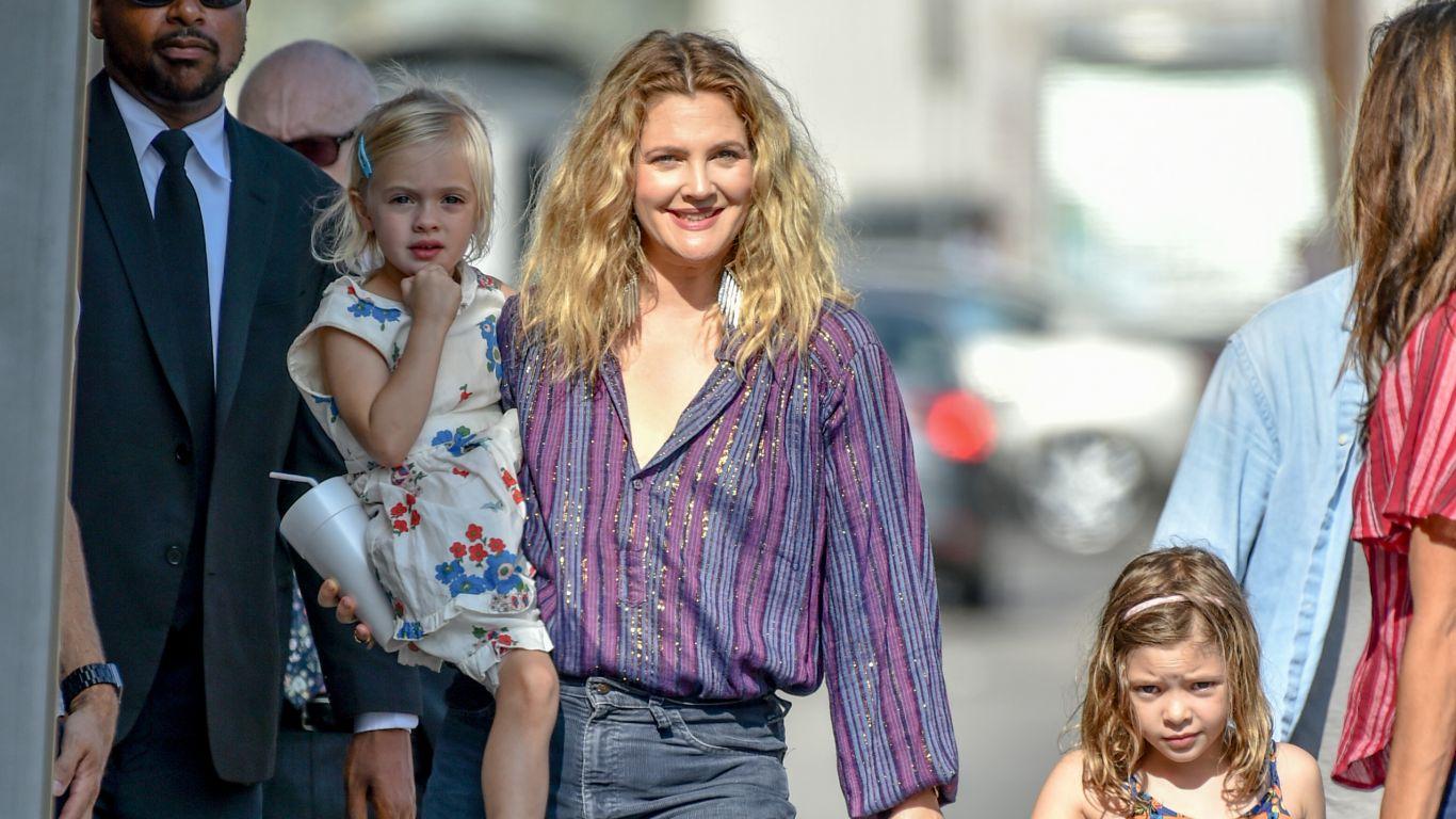 Drew Barrymore e suas filhas
