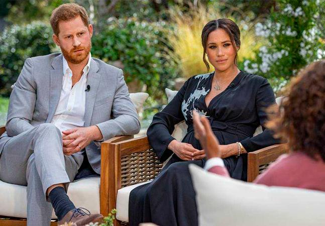 Meghan revela pensamento suicida e temor de família real por filho com pele escura demais