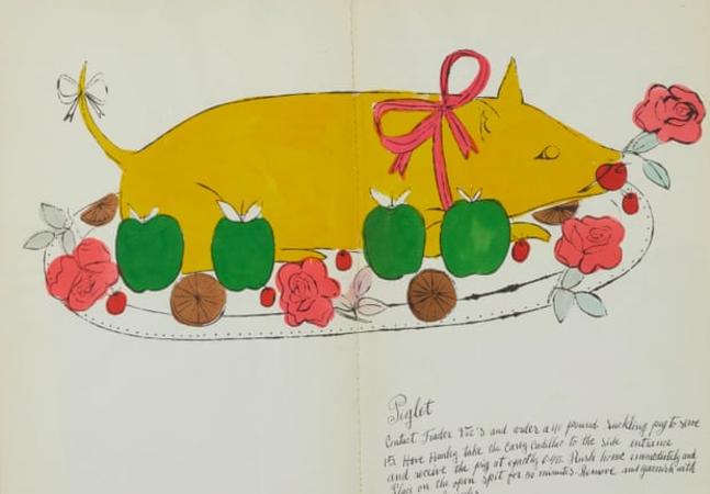 Andy Warhol tem livro ridicularizando cozinha 'chique' colocado para leilão