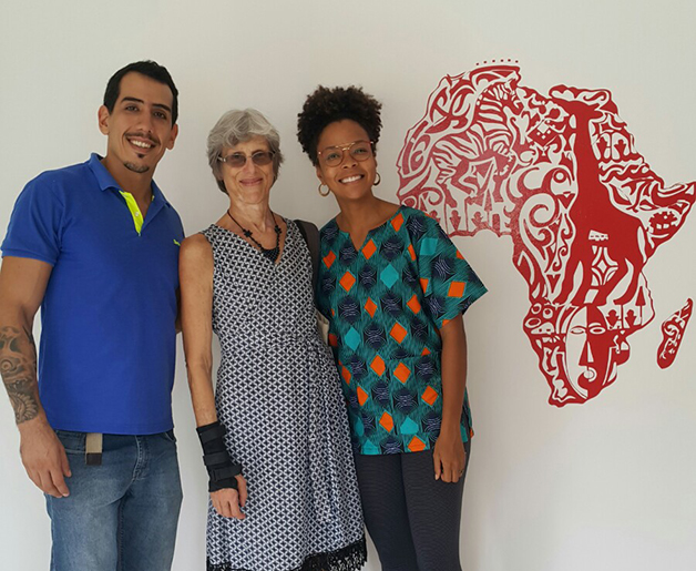 Ian Cavalcanti, Naiara Santos e Bárbara Carine