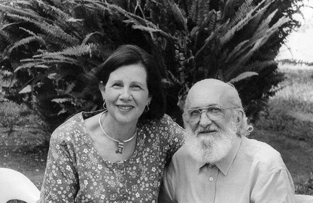 Nita Freire e Paulo Freire