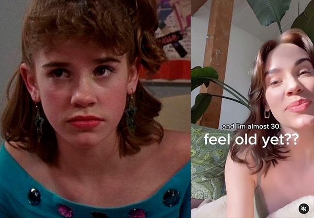 'De Repente 30': ex-atriz mirim posta foto e pergunta: 'Se sentiu velho?'