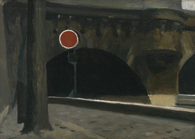 """Bridge in Paris"", de 1906, quadro de Edward Hopper"