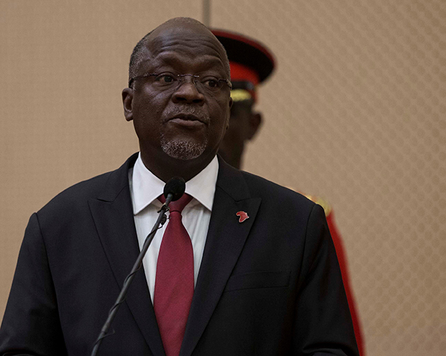 O ex-presidente da Tanzânia, John Pombe Magufuli