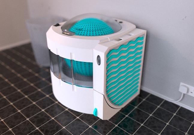 Água do banho reciclável? Conheça a máquina de lavar ecológica