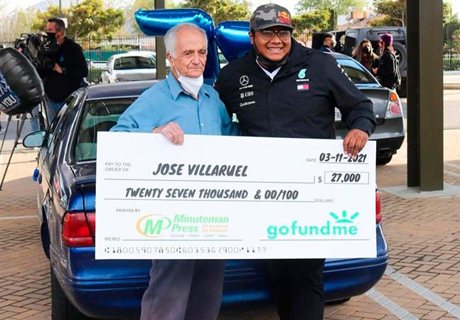 Professor vivendo em carro ganha ajuda de R$ 150 mil de ex-aluno