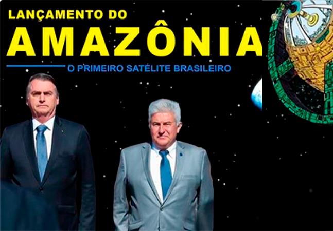 Como a Liga da Justiça se meteu no lançamento do 1º satélite brasileiro