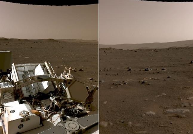 Nasa libera vídeo, imagens em alta definição e áudios com som ambiente de Marte