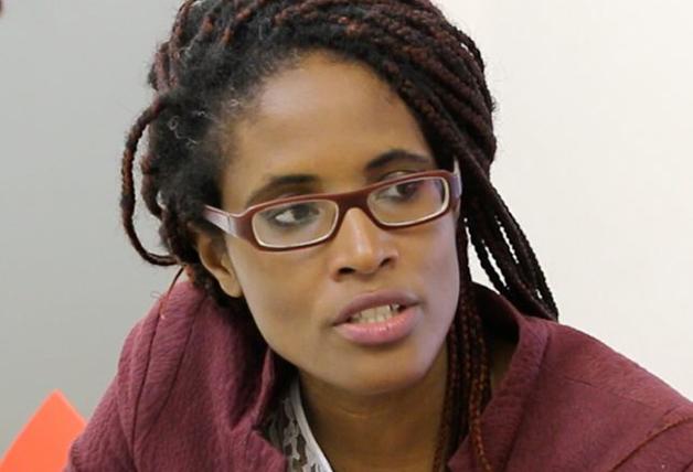 A autora e filósofa Djamila Ribeiro