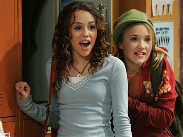 "Miley Cyrus em ""Hannah Montana"""