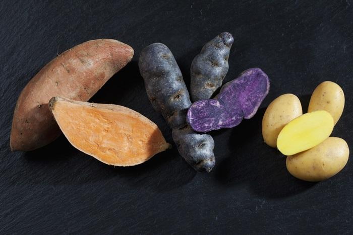 Variedades de batatas peruanas