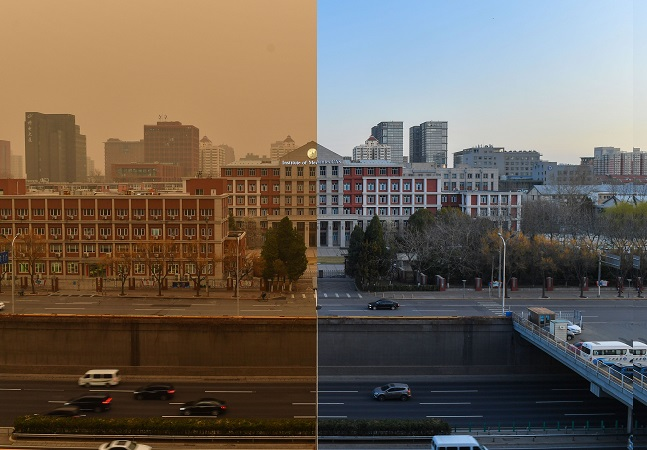 China é engolida por tempestade de areia recorde em novo alerta sobre poluição