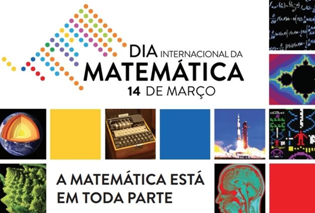 """Post na página do IMPA celebrando o """"Dia do Pi"""""""