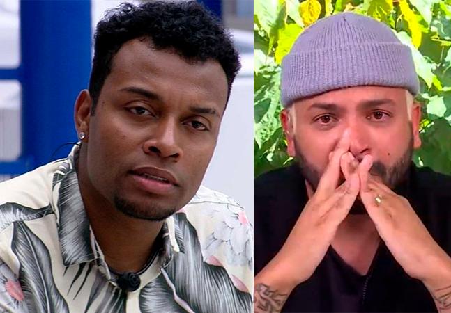 'BBB': Nego Di é notificado judicialmente pela Globo e Projota chora no 'Mais Você'