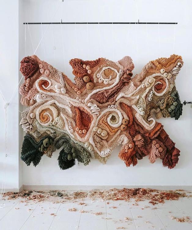 """Spiralis"", obra de Vanessa Barragão"