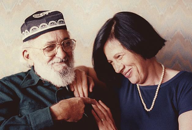 Paulo Freire e Nita Freire
